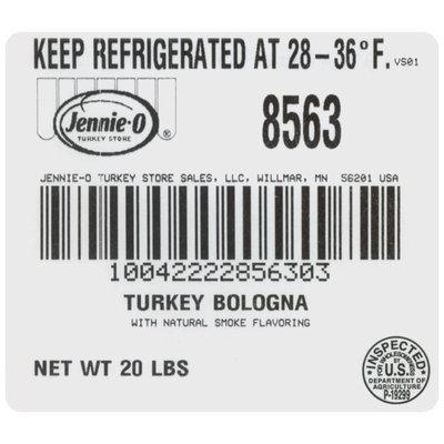 Jennie-O® Turkey Bologna Chub
