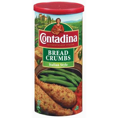 Contadina Seasoned Italian Style Bread Crumbs 10 oz. Canister