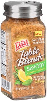 Mrs Dash® Table Blends™ Savory Lemon with Herbs Salt-Free Seasoning Blend 2.5 oz. Shaker