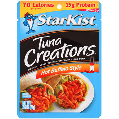 StarKist® Tuna Creations® Hot Buffalo Style Tuna 2.6 oz. Pouch