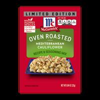 McCormick® Oven Roasted Mediterranean Cauliflower Seasoning