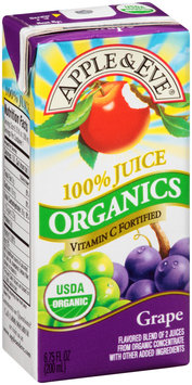 Apple & Eve® Organics Grape 100% Juice 3-6.75 fl. oz. Aseptic Packs