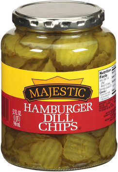 Majestic Hamburger Dill Chips Pickles 32 f. oz.