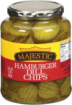Majestic Hamburger Dill Chips Pickles 32 f. oz.