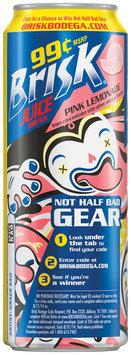 Brisk® Pink Lemonade Juice Drink $0.99 24 fl. oz. Can
