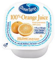 Ocean Spray 100% Orange Juice 4 Oz Cup