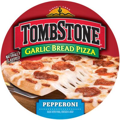TOMBSTONE Garlic Bread Pepperoni Pizza 27 oz.