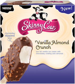 Skinny Cow Vanilla Almond Crunch Bar