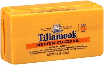 Tillamook Medium Cheddar Cheese 2.5 Lb Loaf