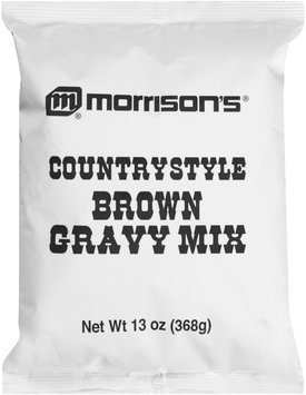 Morrison's® Countrystyle Brown Gravy Mix 13 oz. Bag