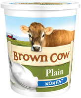 Brown Cow Plain Nonfat Yogurt 32 oz. Tub