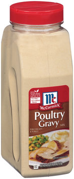 McCormick® Poultry Gravy Mix for Chicken & Turkey 18 oz Shaker