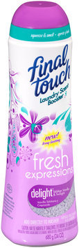 Final Touch® Fresh Expressions™ Delight™ Tahitian Vanilla & Twilight Laundry Scent Booster 24 oz. Shaker