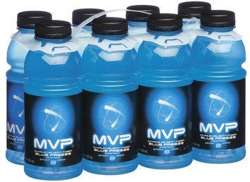Schnucks Mvp Blue Freeze 20 Oz Sport Drink 8 Pk Plastic Bottles