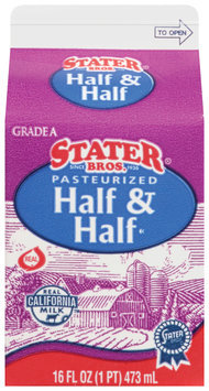 Stater Bros.® Pasteurized Half & Half
