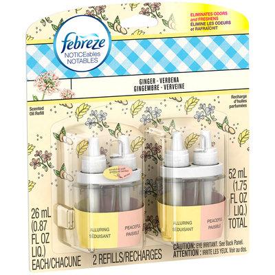 Noticeables Febreze NOTICEables™ Ginger Verbena Air Freshener (2 Count, 26 mL)