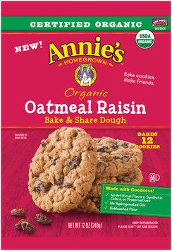 Annie's™ Organic  Oatmeal Raisin Bake & Share Dough 12 ct Pack