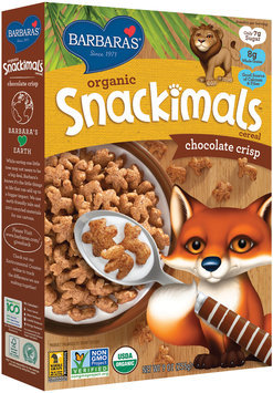 Barbaras® Organic Snackimals™ Chocolate Crisp Cereal