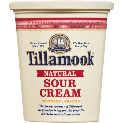 Tillamook® Natural Sour Cream 16 oz. Tub