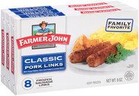 Farmer John® Classic Pork Links 3-8 oz. Boxes