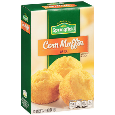 Springfield® Corn Muffin Mix 8.5 oz. Box