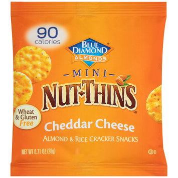 Blue Diamond® Mini Nut-Thins® Cheddar Cheese Almond & Rice Cracker Snacks 0.71 oz. Pack
