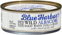 Blue Harbor Fish Co.™ Wild Albacore Solid White Tuna in Water 4.6 oz. Tin