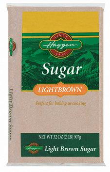 Haggen Light Brown Sugar 32 Oz Bag