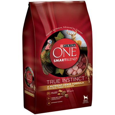 PURINA ONE® SmartBlend True Instinct with Real Turkey & Venison Adult Premium Dog Food