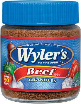 Wyler's® Instant Bouillon Beef Flavor Granules 6.25 oz. Jar