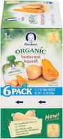 Gerber Organic 1st Foods Butternut Squash 6-3.17 oz. Pouches
