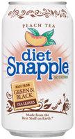 Snapple Peach Diet Iced Tea 11 Oz Can
