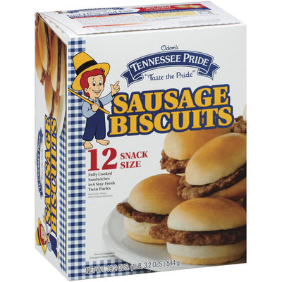 Tennessee Pride Sausage 12 Ct Biscuits