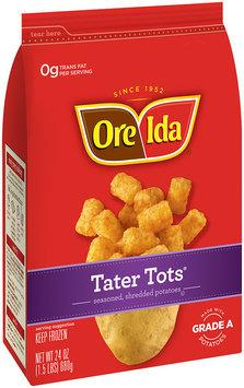 Ore-Ida® Tater Tots® Seasoned, Shredded Potatoes 24 oz. Bag