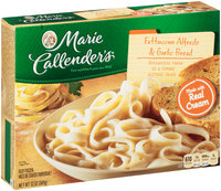 Marie Callender's® Fettuccini Alfredo & Garlic Bread 13 oz. Box