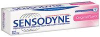 Sensodyne® Original Flavor Toothpaste 4.0 oz. Box