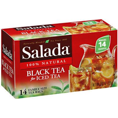 Salada® 100% Natural Black Tea for Iced Tea 14 ct. Box