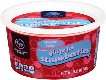 Kroger® Sugar Free Glaze for Strawberries 12.75 oz. Tub