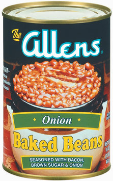 The Allens Onion Baked Beans