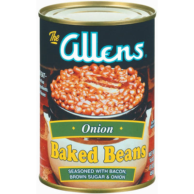 The Allens Onion Baked Beans 16 Oz Can