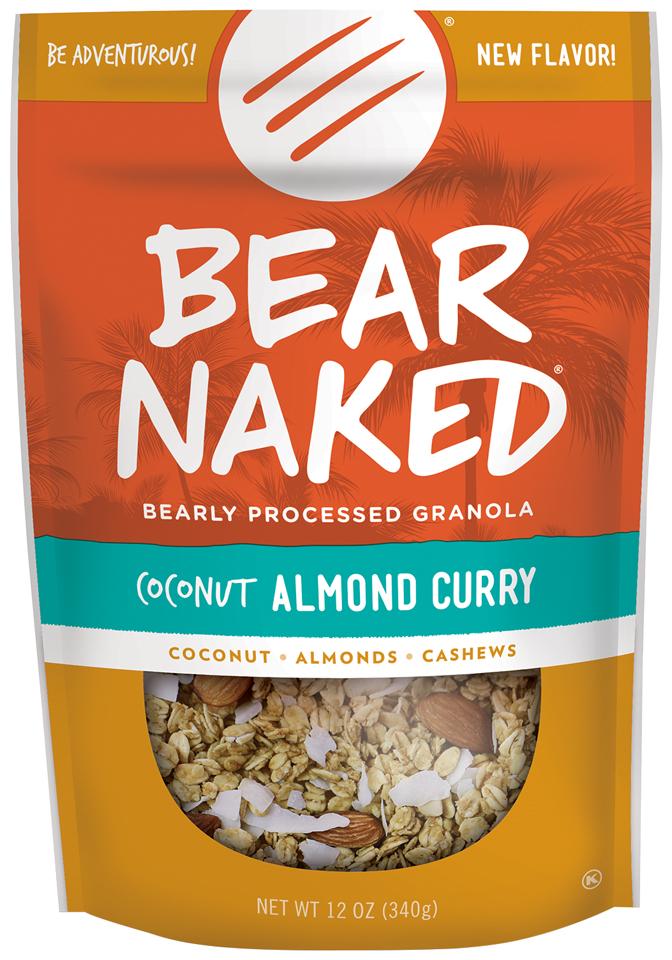 Bear Naked® Coconut Almond Curry Granola 12 oz. Bag