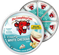 The Laughing Cow® Creamy White Cheddar Cheese Wedges
