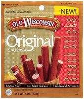 SNACK STICKS 6 Oz Original Sausage