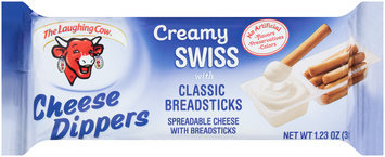 The Laughing Cow Cheese Dippers Creamy Swiss with Classic Breadsticks