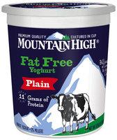 Mountain High® Plain Fat Free Yoghurt 32 oz. Tub