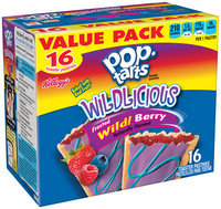 Kellogg's® Pop-Tarts® Wildlicious™ Frosted Wild! Berry Toaster Pastries 16 ct Box