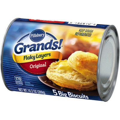 Pillsbury Grands!® Flaky Layers Original Biscuits 5 ct Can