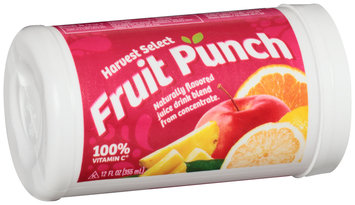 Harvest Select Fruit Punch 12 fl. oz. Canister