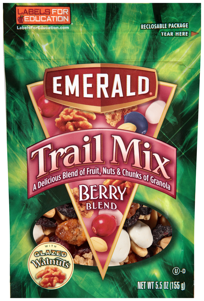Emerald® Berry Blend Trail Mix 5.5 oz. Bag