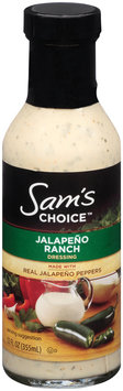 Sam's Choice™ Jalapeno Ranch Dressing 12 fl. oz. Bottle